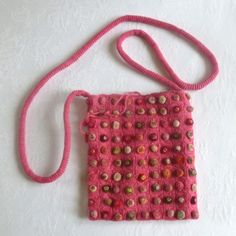 "Shoulder bag Sophie Digard - ""Biscuits pop minus""."