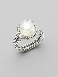 Yurman pearl ring .. LOVE!