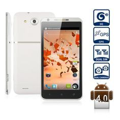 Haipai X720D Smart Phone Android 4.0 MTK6577 3G GPS WiFi 4.7 Inch capacitive touch screen White   www.ipromarket.co..., $194.99