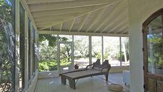 extra wide screen verandah