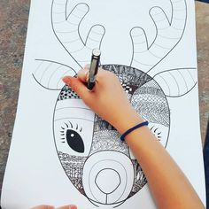 Funky Reindeer Craft Template Teaching Resource – Teach Starter Teaching Resource: A fun Christmas craft activity using a reindeer with funky glasses and a Christmas hat.