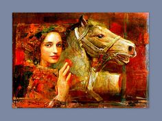 Mersad Berber- #lady in #red
