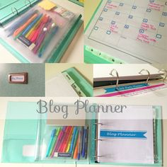 My May Sunshine: A Look Inside My Blog Planner + Links to Free Printables