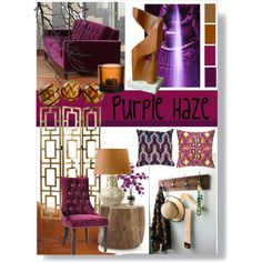 purple haze, created by slpayne on Polyvore