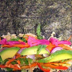 RAW VEGAN SUSHI Fit Food Travel