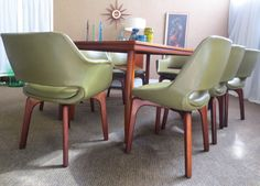 DANISH DELUXE DINING CHAIRS 1980 Lounge Ideas, Mid Century Design, Retro Style, Danish, Furniture Design, Dining Chairs, Vintage, Home Decor, Living Room Ideas