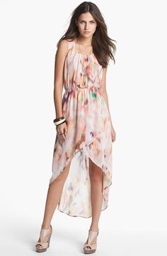 Blu Pepper Tulip High/Low Dress (Juniors) (Online Only) available at #Nordstrom