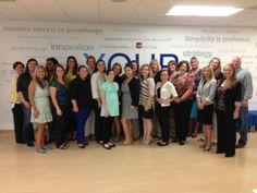 Freeman's Women's Development Group at the National Sales Office in Alexandria, VA. #FreemanCo #TrueBlue