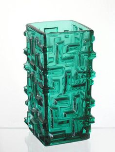 Lisované sklo,dizajn: Jiří Brabec,Sklounion,1969