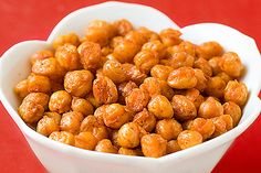 It may sound odd, but kids like roasted chickpeas! Give it a try :)