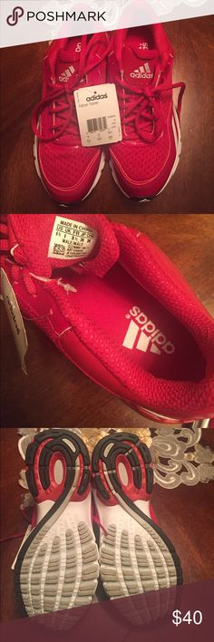 New Gorgeous red adidas falcon trainer 3 adidas Shoes Sneakers