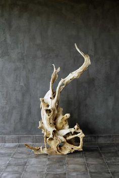 WEATHERED TEAK FORM Blaxsand Wood ArtworkDriftwood SculptureOrganic ArtReclaimed FurnitureDrift