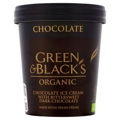 Green & Black's Organic Chocolate Ice Cream 500ml from Ocado
