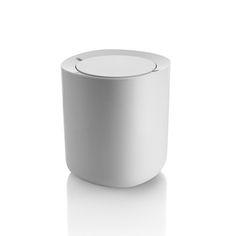 Alessi - Birillo Bathroom Waste Bin - White