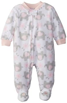 Vitamins Baby Baby-Girls Newborn Elephant Microfleece Footed Coverall, White, 9 Months Vitamins Baby http://www.amazon.com/dp/B00JZGO49I/ref=cm_sw_r_pi_dp_iFMwub06XSE1S