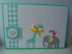 Zoo babies Stampin' Up! party