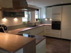 Unsere neue Küche ist fertig. Der Hersteller ist: Häcker - Systemat AV 4030 - Stilrichtung: Moderne Küchen - Datum der Fertigstellung: 24.04.2014