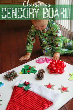 Christmas Sensory Board