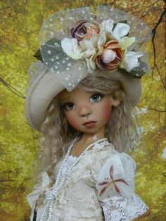 Adorable doll by the Amazing Kaye Wiggs