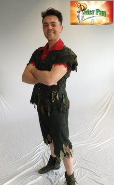 Ray as Peter Pan(Liverpool Empire 2013/2014)