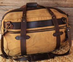 Filson-Pullman-70243-Railroad-Travel-Bag-Luggage-Leather-Retail-410-No-Reserve
