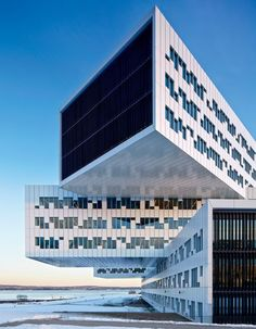 A Gravity Defying Oslo Office Complex-he award winning Statoil Headquarters in Oslo, designed by architecture firm A-Lab.
