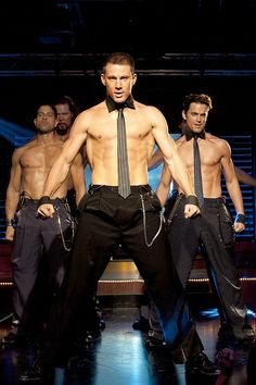 Hot guys from Magic Mike