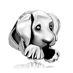 Pugster Sleepy Cute House Puppy Dog Animal Beads Fits Pandora Charms Bracelet