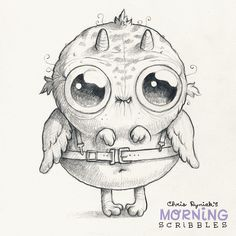 Looks like somebody got their training wings.  #morningscribbles