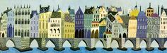 Eyvind Earle (1916-2000) was, among other things, the conceptual mastermind behind those gorgeous backgrounds in Disney's Sleeping Beauty (1959).  Is the film Disney's masterpiece? Quite possibly.