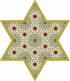 Great star and filigree patterns for craft work