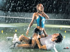 Ellesse says, play in the rain - past 'sexy' tennis campaign.