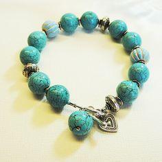 Turquoise  Silver Bracelet £28.00