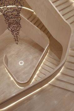 We explore new and innovative solutions to design the world we want to live in. Staircase Railings, Staircase Design, Stairways, Stair Lighting, Lighting Design, Stairs To Heaven, Yabu Pushelberg, Stair Steps, House Stairs