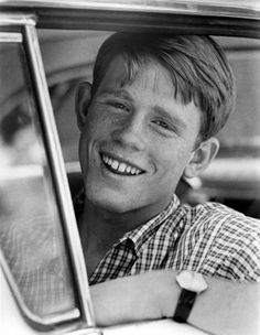 Ron Howard, American Graffiti (1973), my first movie crush....I was 10 years old.  Then Robbie Benson came along!!!!  Ahh true love