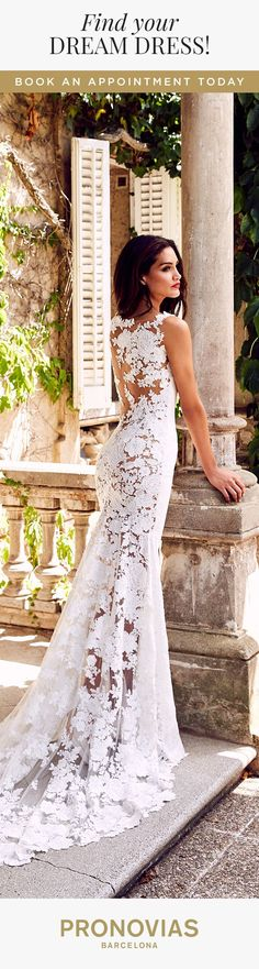 Could Rua dress be the wedding dress for you? Try it on at your nearest store! #weddingdress #mermaidweddingdresses