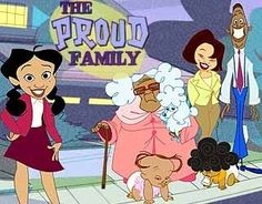The Proud Family...Omg I Used to watch this show all time , the movie was on family last night