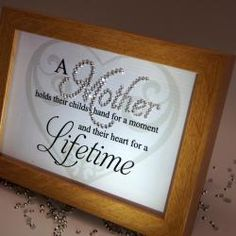 Mother Lifetime, Sparkle Word Art Pictures, Quotes, Sayings, Home Decor