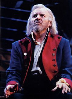 """Colm Wilkinson as Jean Valjean, in the Broadway production of """"Les Miserables"""".  He originated the role in London's West End and again on Broadway.  In my opinion, the very BEST Valjean to date!"""