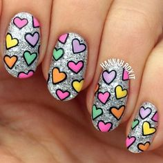 41 Romantic Valentines Week Nails Designs 2017