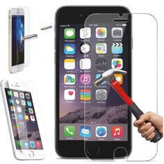 """4.7"""" for iPhone 6 Tempered Glass Film Screen Protector for iPhone 6S Screen Guard 0.3mm 9H 2.5D Arc HD Shield Pelicula De Vidro //Price: $2.61//     #electonics"""