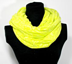 Yellow Paisley Scarf, Yellow Nursing Cover, Breastfeeding Cover For Nursing, Yellow Infinity Scarf, Infinity Scarf, Breastfeeding Scarf by HenryNCompany on Etsy