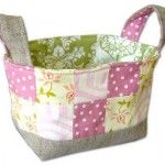 Sewn soft baskets!  Perfect for toys!