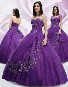 Bordados para vestidos de 15 años