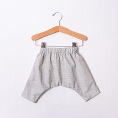 Infant & Toddler Ninja Pants - Grid
