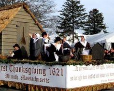 Plymouth Massachusetts Hometown Thanksgiving Parade