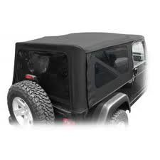 @>  2004-2006 Jeep Wrangler Unlimited OEM Production Soft Top