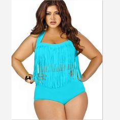 Just Released! Ruby Push-Up and ... http://simplyparisboutique.com/products/ruby-push-up-and-high-waist-tassel-bikini-plus-size
