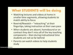 Flipped Classroom for Parents