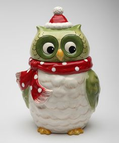 This Owl Cookie Jar by Sugar High Social is perfect! #zulilyfinds